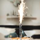 Свечи фейерверк на торт
