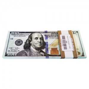 """Сувенирные деньги """"100 долларов"""" новый образец"""