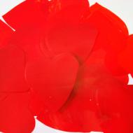 Метафан полипропиленовый красные сердечки MF-3