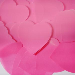 Метафан полипропиленовый розовые сердечки MF-5
