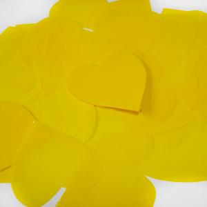 Метафан полипропиленовый желтые сердечки MF-6