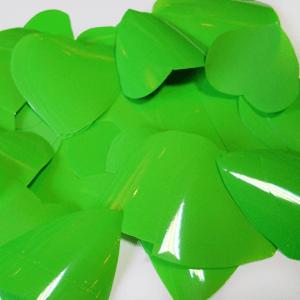 Метафан полипропиленовый зеленые сердечки MF-7