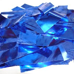 Метафан металлизированный синий прямоугольный MM-5