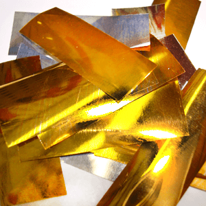 Метафан металлизированный золотисто-серебристый MM-3