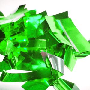 Метафан металлизированный зелено-серебристый MM-6