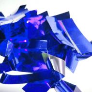 Метафан металлизированный сине-серебристое MM-7