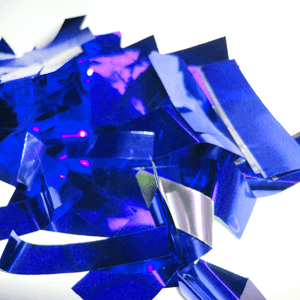 Метафан металлизированный сине-серебристый MM-7