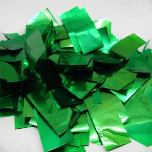 Метафан металлизированный зеленый прямоугольный MM-9