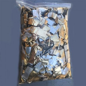 Метафан металлизированный золотисто-серебристый MM-11 (вторсырье)