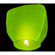 Небесный фонарик купол салатовый