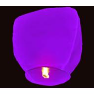 Небесный фонарик купол фиолетовый