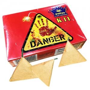 Шутиха (петарда) Danger K11 треугольники