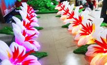 Аренда пневмогирлянды (надувные цветы)