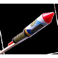 Ракета  Color peony Red, Blue, Green Q12