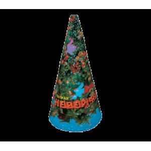 Вулкан Новогодний серебристый с треском VK-3